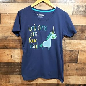 Threadless Unicorns are faux real graphic t-shirt